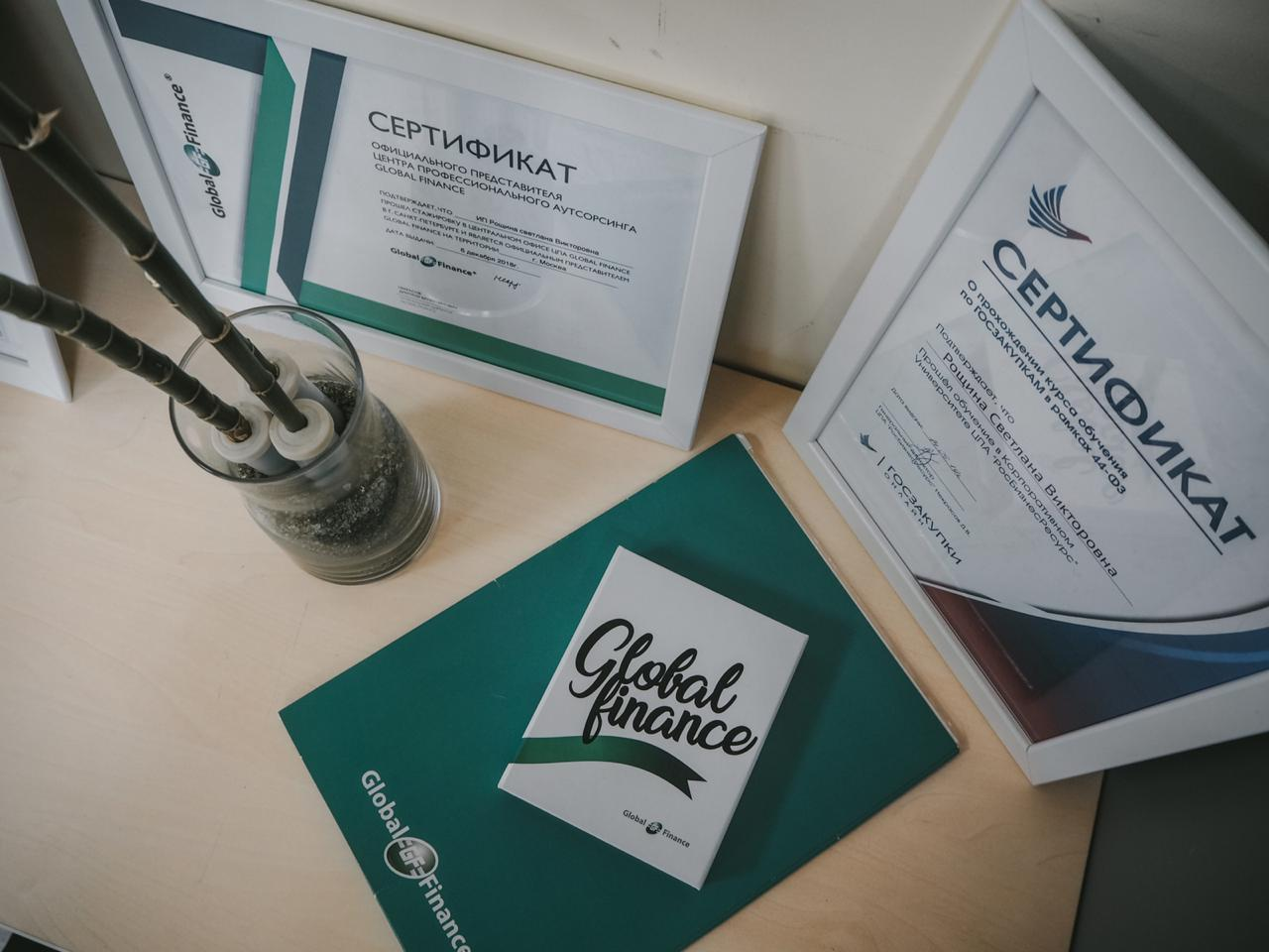 Аудиторские услуги Global Finance